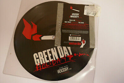 £18 • Buy Green Day - Holiday 7  Rare Picture Disc Single 2005 Reprise W664 Nr Mint
