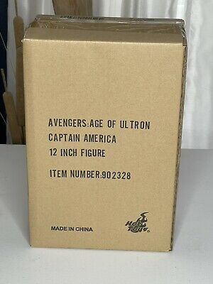 $ CDN652.97 • Buy Hot Toys Captain America Avengers Age Of Ultron Sealed Shipper Double Boxed