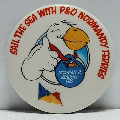 £9.95 • Buy P&O Ferries Captain Gull Sail The Sea With P&O Normandy Ferries 44mm