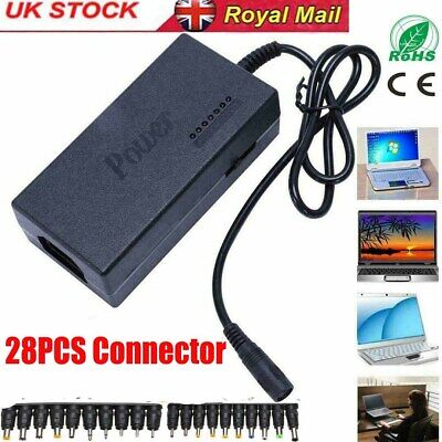£17.99 • Buy 34Tips 96W Universal Power Supply Charger For PC Laptop Notebook Adapter UK Plug