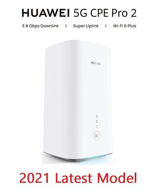£493.49 • Buy Huawei CPE Pro 2 H122-373 Brand New 2021 Unlocked 5G 4G Router Replaces H112-372