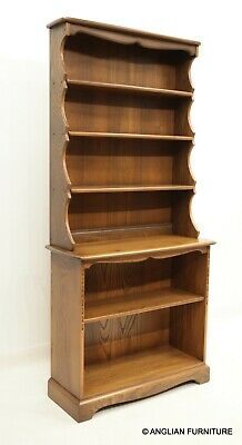 £847 • Buy Ercol Bookcase 4 Shelves Golden Dawn EXC Model 972 & 973 FREE UK Delivery*