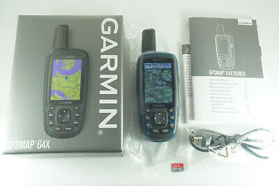$249 • Buy Garmin GPSMAP 64x GPS W/ Upgraded TOPO U.S. 24K Maps Two Topographic Regions!