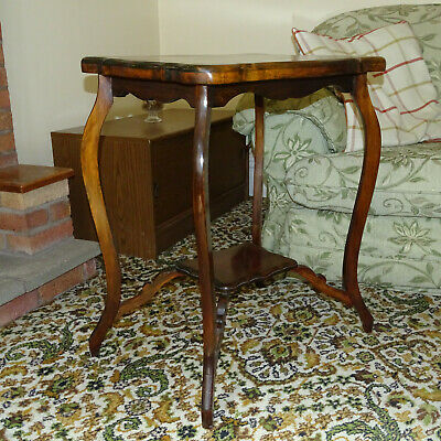 £80 • Buy French Style Wood Occasional Table With Cabriole Legs Good Condition
