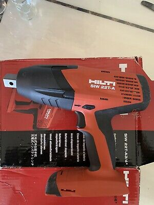 £215 • Buy HILTI Impact Wrench SIW 22T-A 3/4