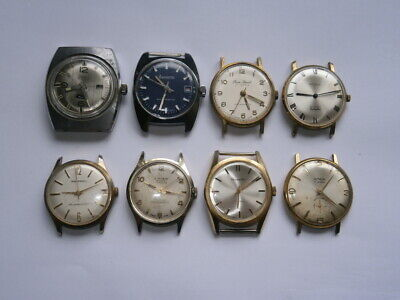 $ CDN147.83 • Buy Job Lot Of Vintage Gents Watches Mechanical Watches Spares Or Repair Swiss Made