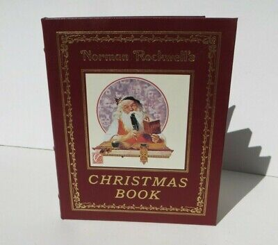 $ CDN157.70 • Buy NORMAN ROCKWELL'S CHRISTMAS BOOK - Easton Press - Leather Bound Book