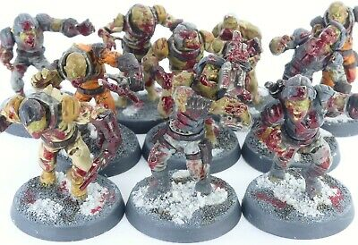 £29.99 • Buy (10 Figures) 40K Nurgle Death Guard Chaos Plague Zombies (Made By Manticgames)