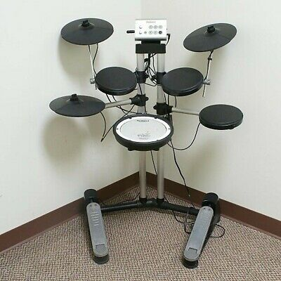 AU477.56 • Buy Roland Hd-1 V Electric Electronic Digital Drum Kit X2 Drumsticks Plus Key Tool