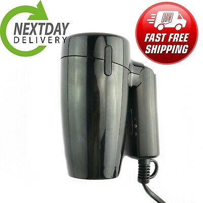 £9.50 • Buy 1200w Folding Travel Hair Dryer 220-240 Voltage Heating Cooling Hairdryer