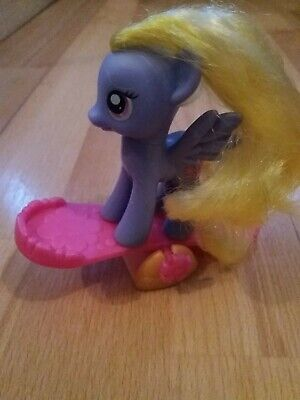 £8 • Buy My Little Pony MLP FIM: Rare Lily Blossom Brushable Figure G4 2010 With See Saw.