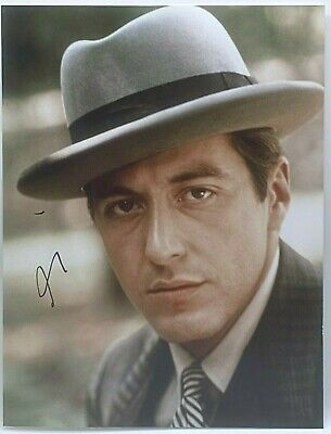 £395 • Buy Al Pacino Signed 16x12 Photo THE GODFATHER AFTAL OnlineCOA