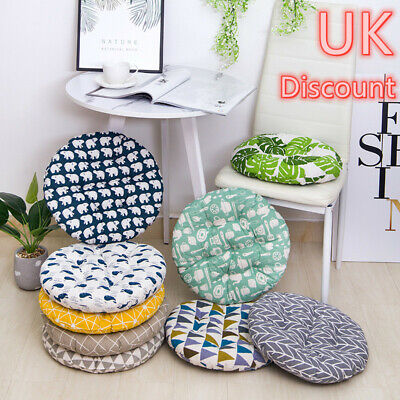 £3.94 • Buy Cotton Cushion Dining Chair Seat Pads Thick Pillow Sofa Cushion Mat Outdoor Uk