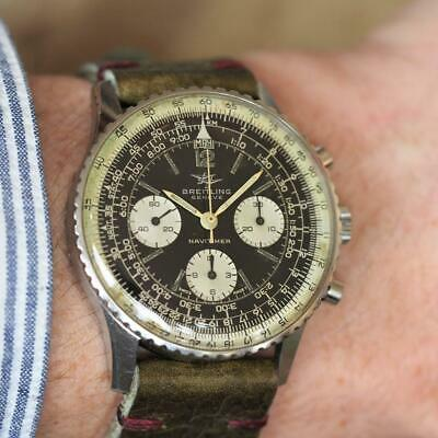 £4295 • Buy Genuine 1966 BREITLING Navitimer 806 Classic 41mm Gents Watch + Service Papers