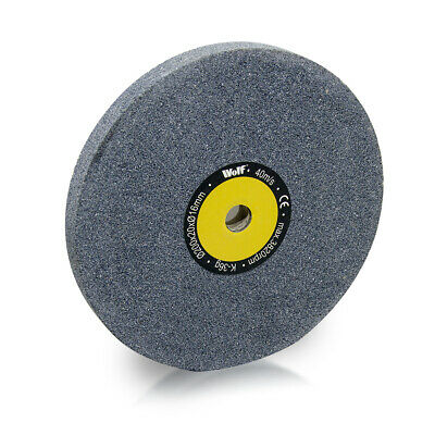 Wolf 200x20x16mm 36 Grit Grinding Wheel Bench Grinder • 18.99£