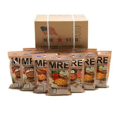 $129.99 • Buy MRE Meals Emergency Food Supply Military Camping Survival Case Of 12 Meals 2021