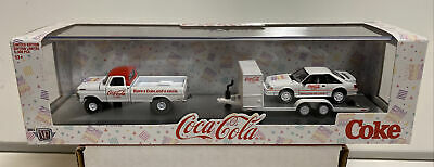 $23.99 • Buy M2 Machines Coca Cola Auto Haulers TW08: 1969 Ford F-100 Ranger & 1990 Mustang