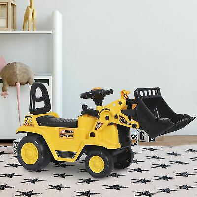£32.99 • Buy Ride-On Bulldozer Toddler Scooter Storage Cart Pretend Play Construction Truck