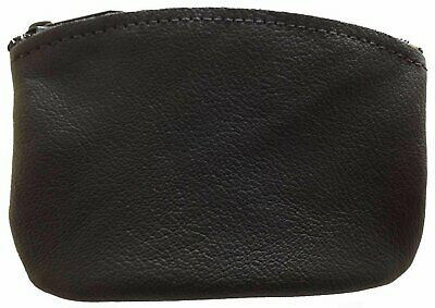 $8.99 • Buy Classic Men's Large Coin Pouch Genuine Leather, Zippered Change Purse By...