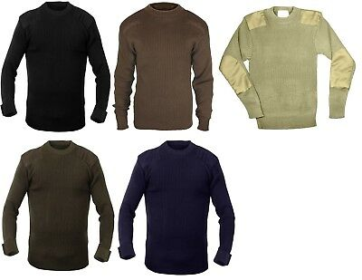 $21.99 • Buy Returned Military Classic Commando Sweater Pullover Army Crew Neck Rothco 6347
