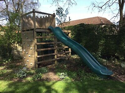 £500 • Buy Wooden Climbing Frame With Slide And Monkey Bars