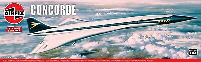 £21.99 • Buy New Airfix 1:144th Scale  Vintage Classics  Concorde Model.