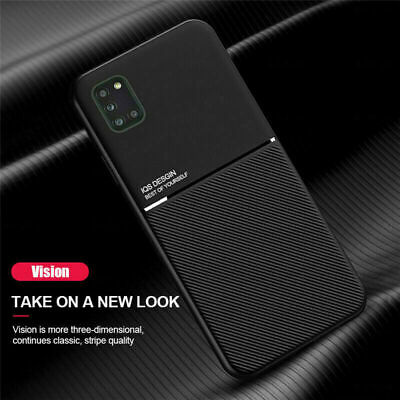 $ CDN6.91 • Buy Magnetic Hybrid Texture Phone Case For Samsung Galaxy S8 S9 S10 S20 S21 Ultra