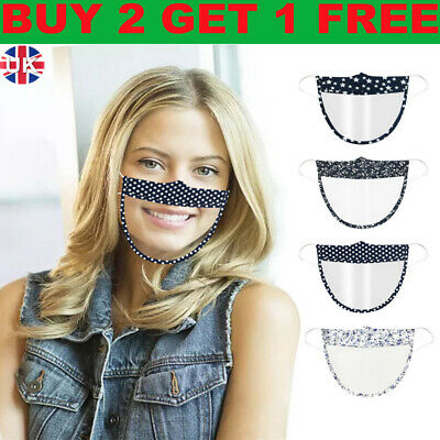 £3.32 • Buy New Transparent Face Shield Half Face Visor Protection PPE Mask Plastic Clear Up