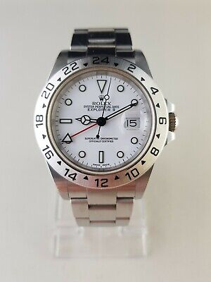 AU11650 • Buy Rolex Explorer II 16570 Polar K Serial 2002
