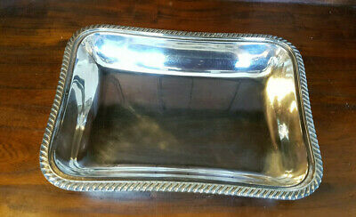 £12 • Buy Vintage Silver Plated A1 Open Serving Dish By William Hutton & Sons