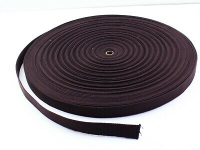 £3.75 • Buy 25mm Heavy Cotton Webbing, Belting, Bag Strap, Choice Of Colours