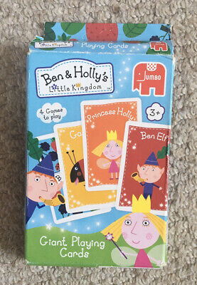 £3.50 • Buy Ben & Holly Giant Playing Cards. 4 Games - Snap, Memory, Go Fish & Nanny Plum.