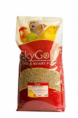 SkyGold Special Canary Bird Food Seed Mix 20kg Sky Gold *NEXT DAY DELIVERY* • 29.99£