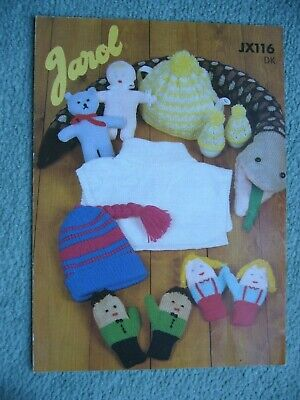 £3.45 • Buy Jarol Oddments Double Knitting Pattern Number Jx116 Good Used O