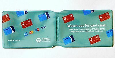 £1.85 • Buy London Underground Oyster Card Travel Card Train Ticket Bus Pass Holder Cover