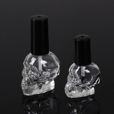 £3.69 • Buy 10/15ml Empty Nail Polish Bottle Clear Glass With Brush Refillable Steamed FGLPT
