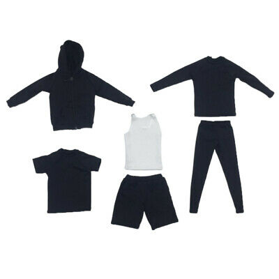 $30.68 • Buy 1/6 Mans Sports Athletic Clothings Full Set For 12''TTL Enterbay Sideshow