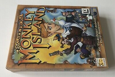 £34.99 • Buy Escape From Monkey Island PC CD-ROM Big Box Edition PAL LucasArts