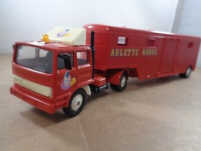 £19.99 • Buy Solido (France) Renault G260 ARLETTE GRUSS Circus Articulated Truck In 1:60