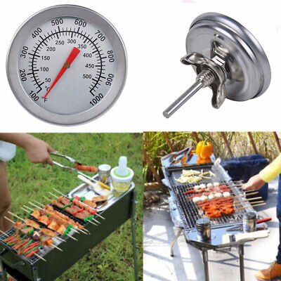 £4.85 • Buy 50-500 Celsius Stainless Steel BBQ Smoker Grill Thermometer Temperature Gauge