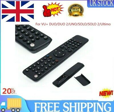 £7.99 • Buy 1*Remote Controller Plastic Replacement For VU+ DUO/DUO 2/UNO/SOLO/SOLO 2/Ultimo