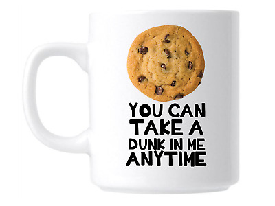 £9.99 • Buy Funny Take A Dunk In Me Sarcastic Novelty Joke Coffee Mug Cup Great Gift