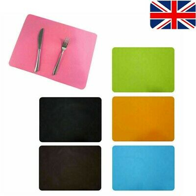 £3.59 • Buy Silicone Dining Table Mat Rectangle Waterproof Non Slip Heat Insulation Mat