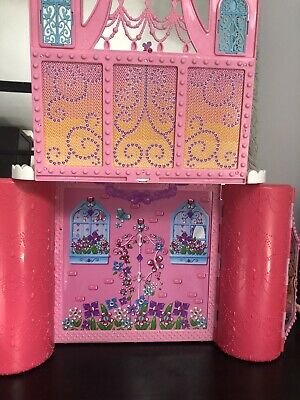 £18 • Buy Barbie Mariposa Butterfly Folding Carry Doll House / Castle Toy 2012 PORTABLE