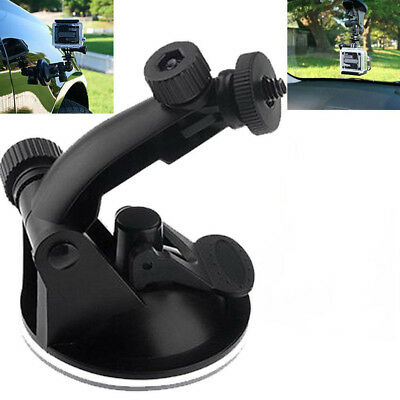 £5.06 • Buy Suction Cup Mount Tripod Adapter Camera Accessories For Go Pro Hero 4/3/2/HD 'PT