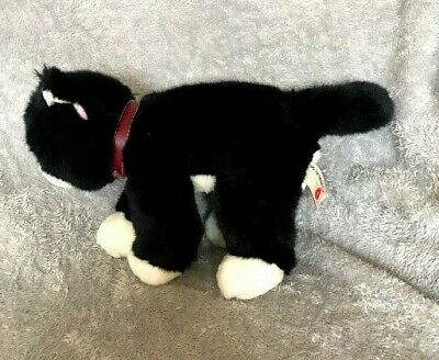£14.99 • Buy Keel Toys Simply Soft Collection Black Cat Red Collar 13  Soft Toy