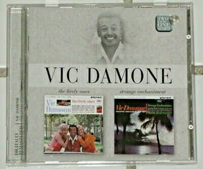 £10.87 • Buy Vic Damone  Strange Enchantment & The Lively Ones  2 Albums On 1 Cd Best Price