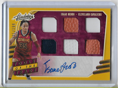 AU70 • Buy 2020-21 Absolute Isaac Okoro Tools Of The Trade 6 Jersey Auto RC /199 Cavaliers