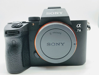 $ CDN763.41 • Buy Sony A7 III ILCE7M3/B Full-Frame Mirrorless Camera Body/ Shutter 64