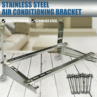 £64.74 • Buy 1-1.5/3 Air Condition  Galvanized Support Bracket Holder Wall Mount Rack Home